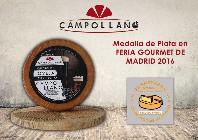 Medalla de Plata en Feria Gourmet de Madrid 2016