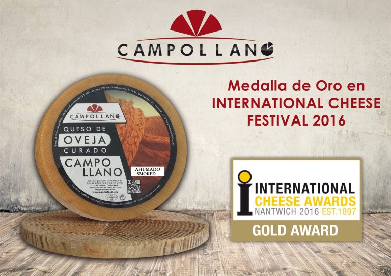 Medalla de Oro en International Cheese en el Festival del 2016