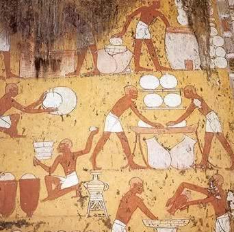 Queso en Egipto